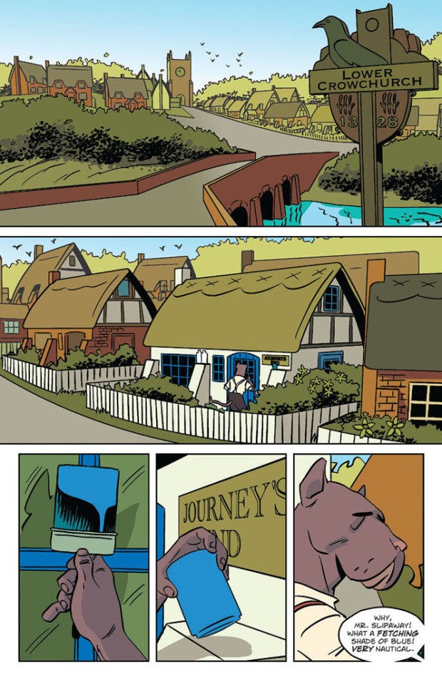 Wild's End #1 Sample Page 5
