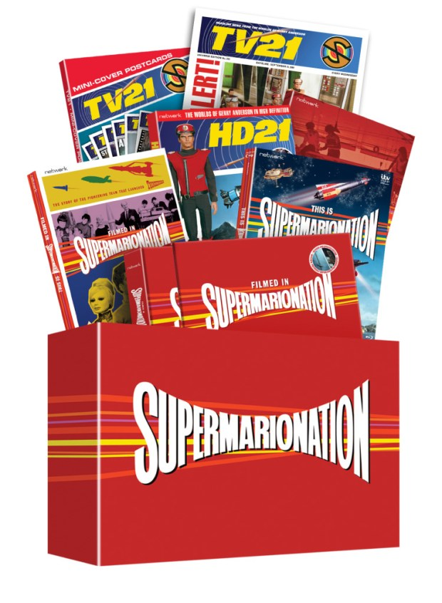 Supermarionation - Complete Exploded Box - Final