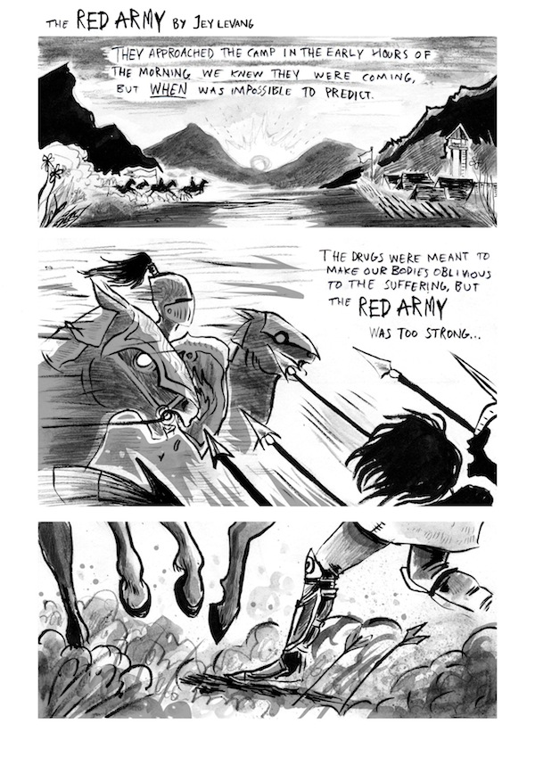 "Dirty Rotten Comics 3: ""The Red Army"" by Jey Levang"