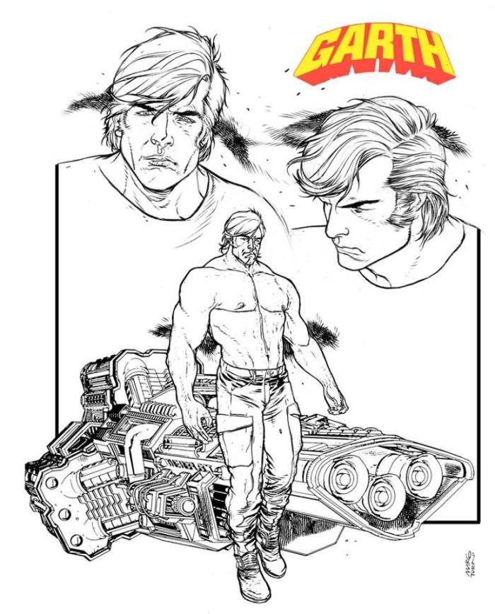Garth - Character study by Marco Turini