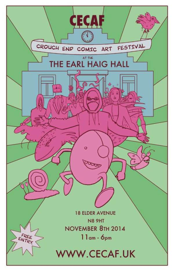 Crouch End Comic Art Festival 2014