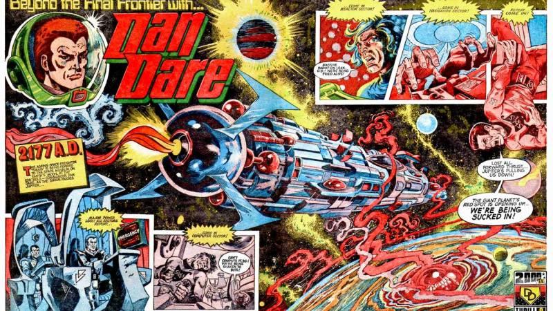 2000AD incarnation of Dan Dare to be reprinted at last