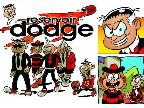 Rodger the Dodger's Reservoir Dodge - Kev F. Sutherland