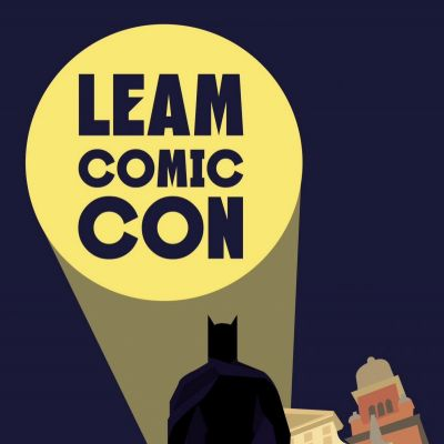 Leamington Comic Con Logo 2014