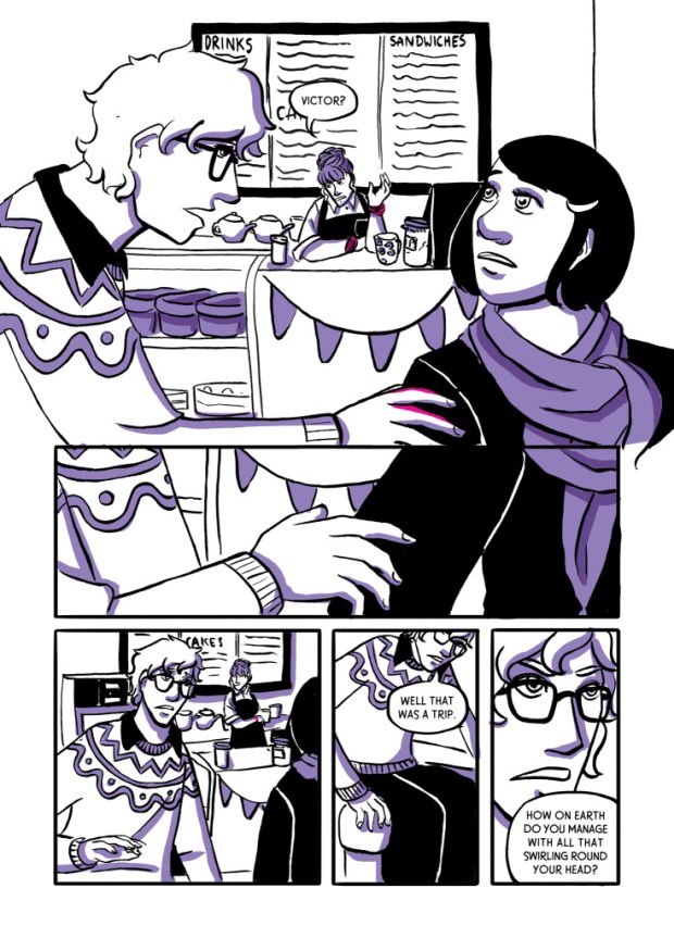 Think Up by Amanda Elanor Tribble: Sample Page (Page 6)