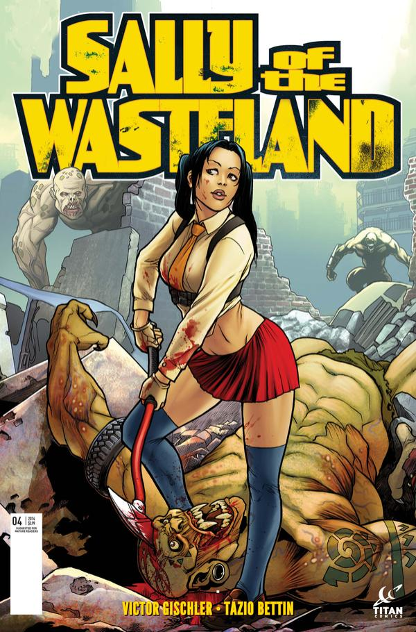 Sally of the Wasteland #4 - Cover