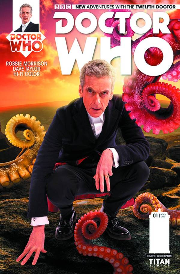 Twelfth Doctor #2 - Photo Cover