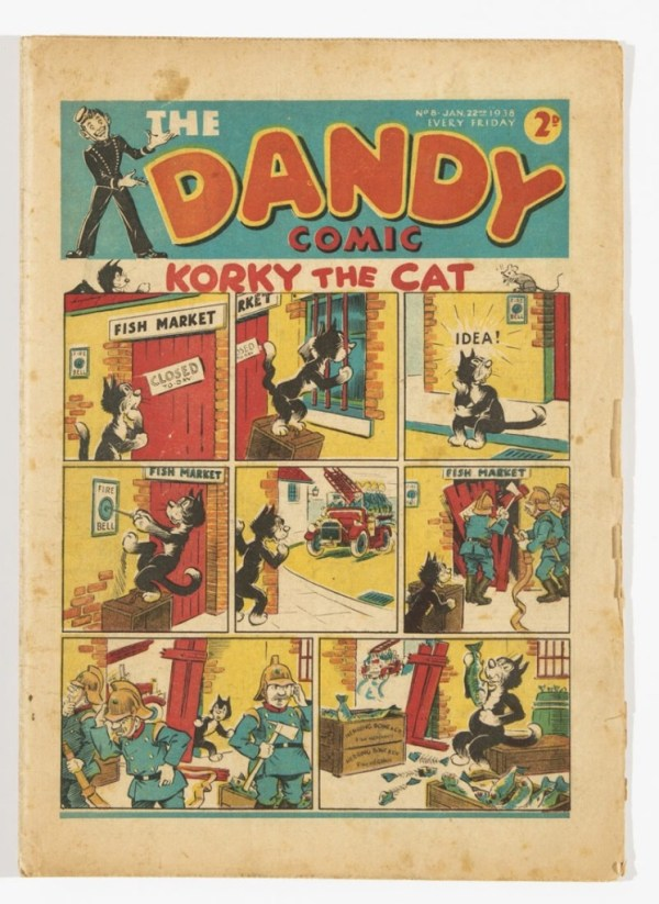Dandy Issue 8 - Published in 1938