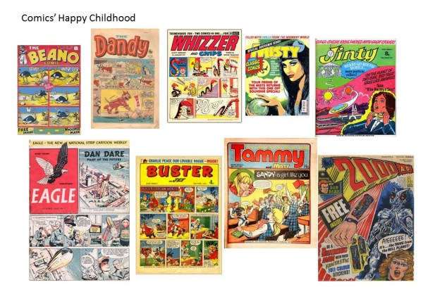 Comics and Literacy Part 1: Vintage Comics
