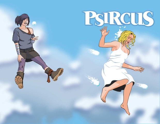 Psircus #2 Cover