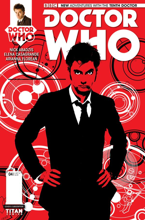 The Tenth Doctor #4 Cover B