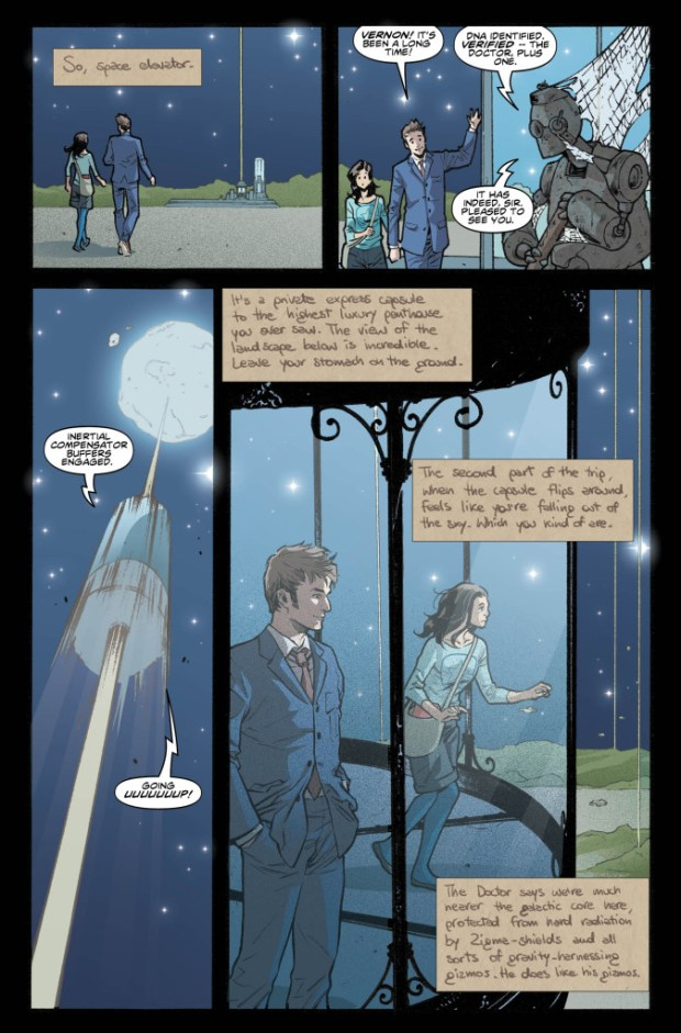 The Tenth Doctor #4 preview 1
