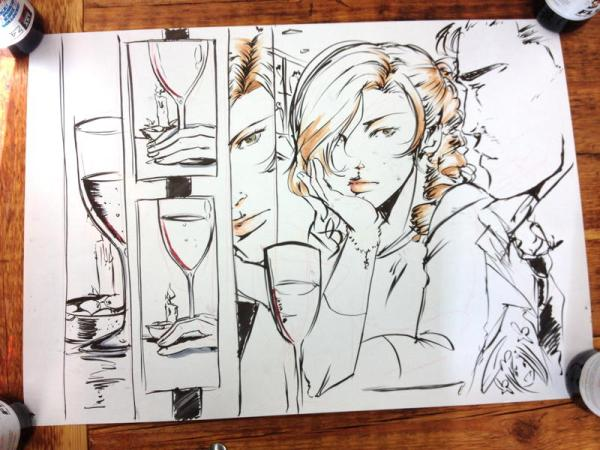 Art by Emma Vieceli