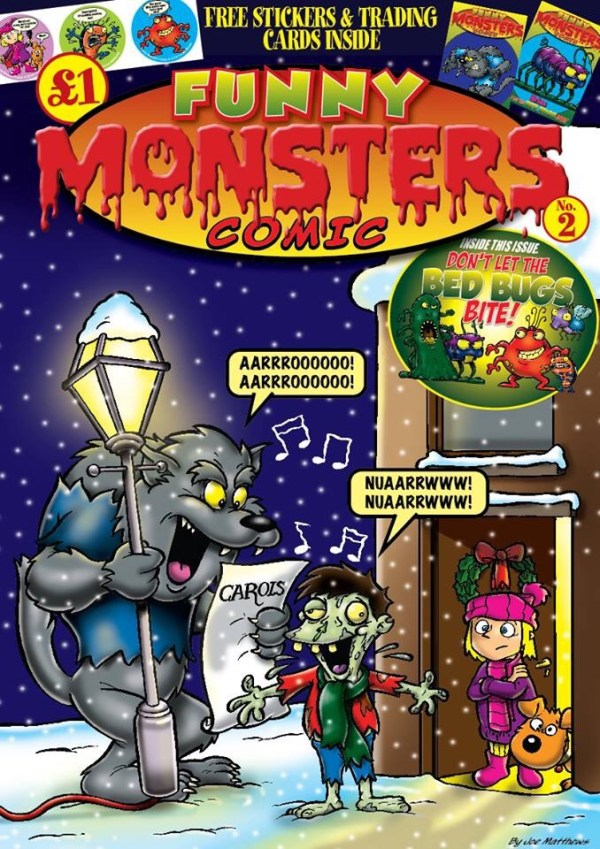 Funny Monsters Issue 2