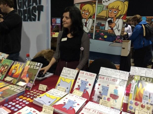 Rachael Smith, creator of the graphic novel House Party. Photo: Antony Esmond