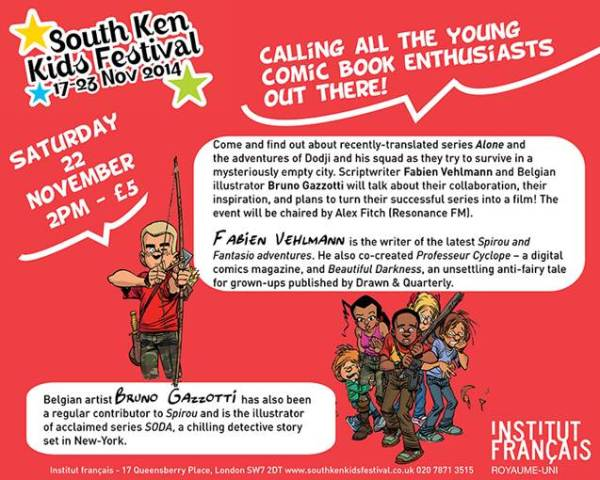 South Ken Kids Festival 2014 Flyer