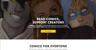 Tapastic Home Page - 2014