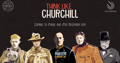 Think Like Churchill - Title