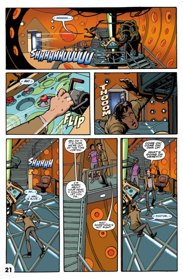 Doctor Who: Eleventh Doctor # 6 Preview 2