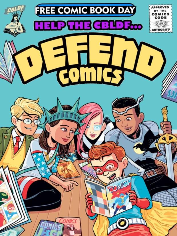 CBLDF  Defend Comics—FCBD 2015 EDITION