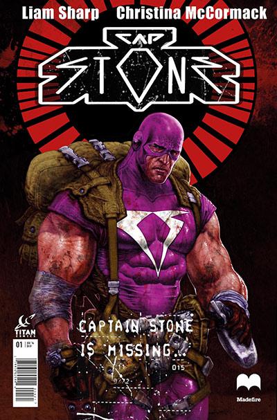 Cap Stone #1 - Cover