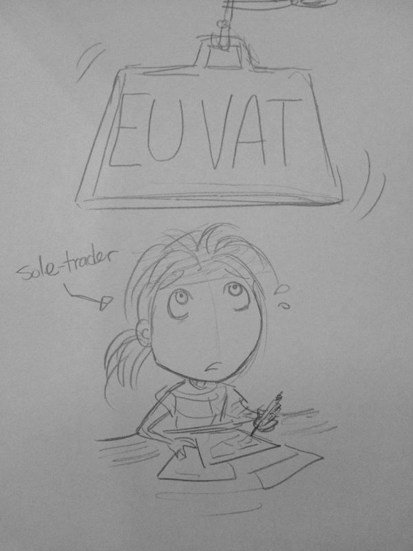 VAT Cartoon by and Jennie Gyllblad