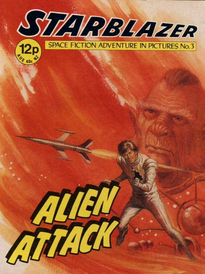 Starblazer No. 3: Alien Attack
