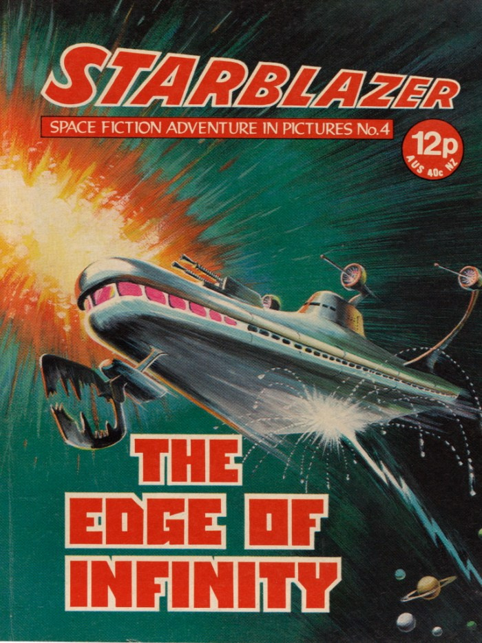 Starblazer Issue 4