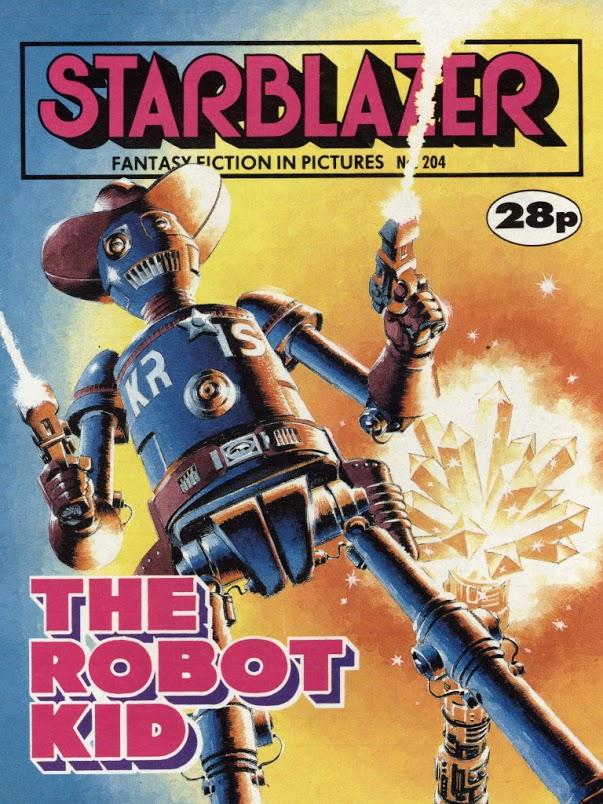 Starblazer 204 - Cover