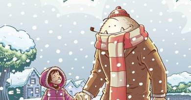 Abigail and the Snowman #1 - Cover