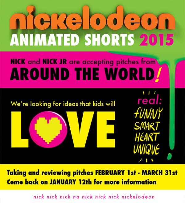 Nickelodeon Animated Shorts Program 2015