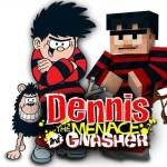 Beano meets Minecraft. Image courtesy DC Thomson/Frima Studios
