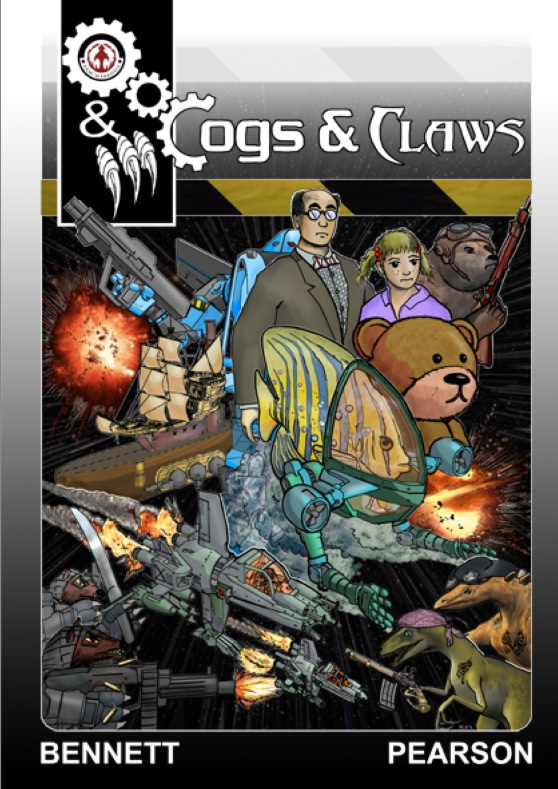 Cogs & Claws Issue One - Cover