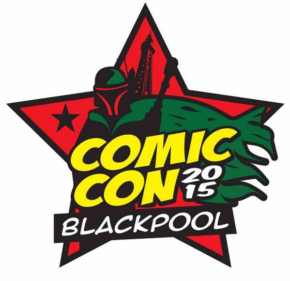 Blackpool Comic Con Logo 2015