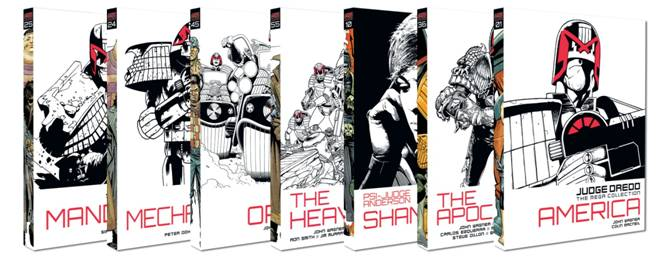 Judge Dredd: The Mega Collection Covers