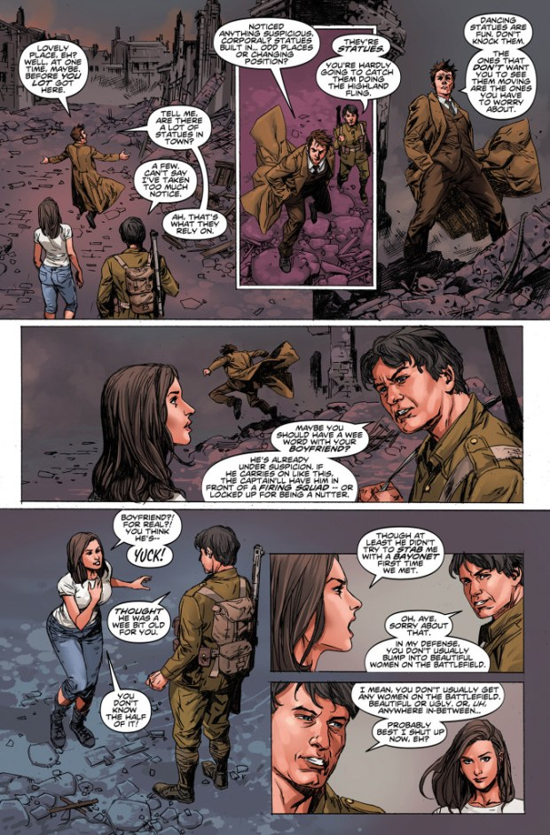 Doctor Who: The Tenth Doctor #7  - Preview 2