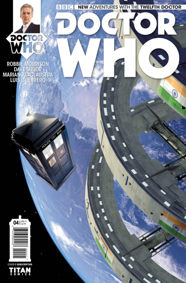 Doctor Who: The Twelfth Doctor #4 - Cover B