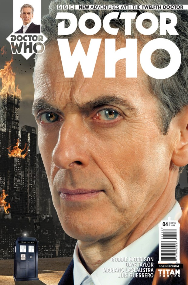 Doctor Who: The Twelfth Doctor #4 - Cover C