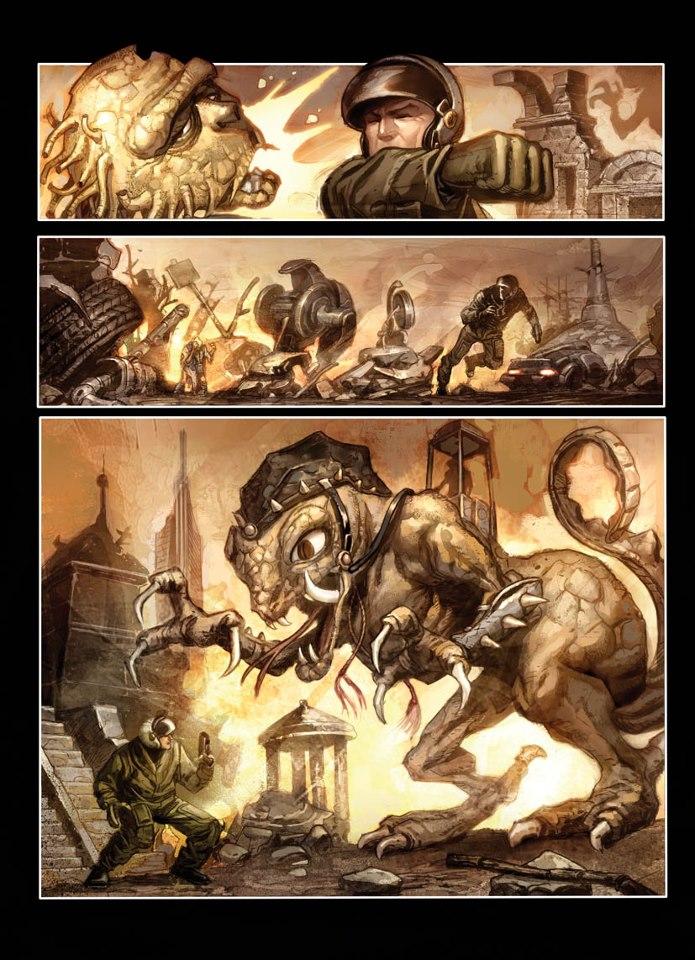 WarWorldz: Origins - Art by Giancarlo Caracuzzo