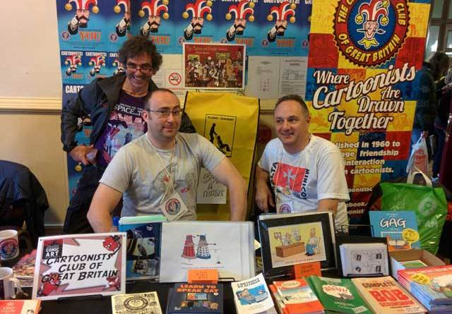 Members of the Cartoonists Club enthralled passers by with their quickfire cartoons at last year's Festival.