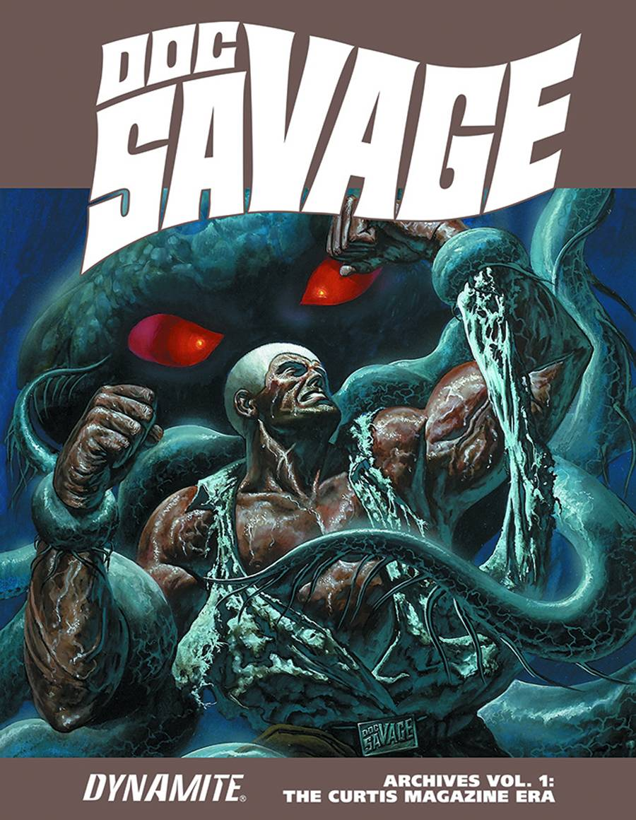 Doc Savage Archives Hard Cover Volume 1 Curtis Mag Era