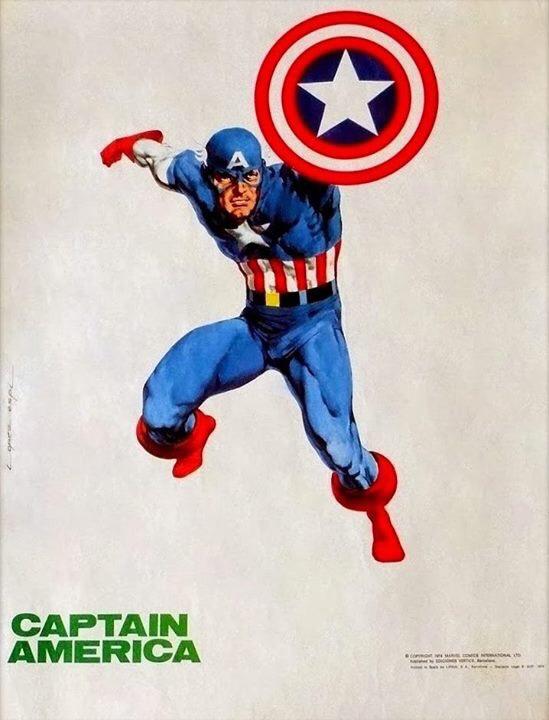 Captain America by López Espí
