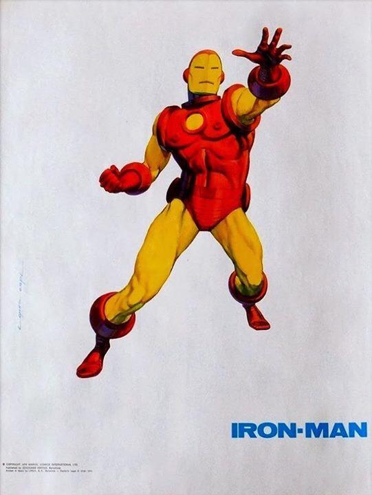 Iron Man by López Espí