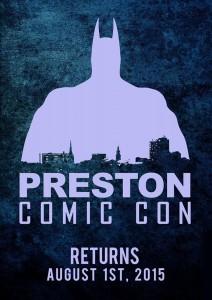 Preston Comic Con 2015