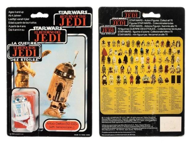 Palitoy/General Mills Star Wars Return of the Jedi Tri-Logo Artoo-Detoo