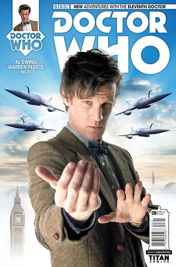 Doctor Who: The Eleventh Doctor #8 - Cover B