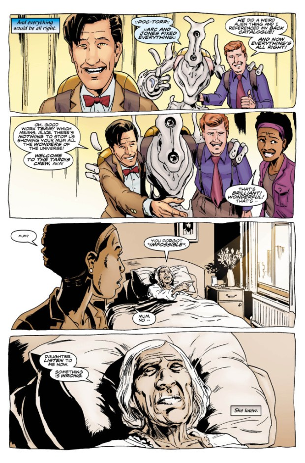 Doctor Who: The Eleventh Doctor #8 - Preview 2