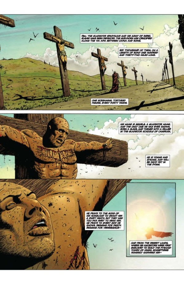 Aquila Issue 1 - Preview Page 1
