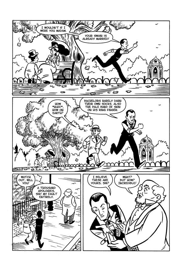 Chris Doherty - Sherlock Holmes - Page 4