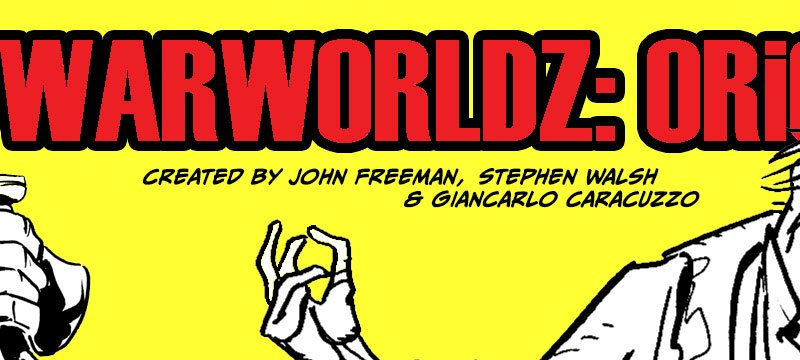 """WarWorldz: Origins"" Launches on Tapastic, second strip for new Shared Universe project"